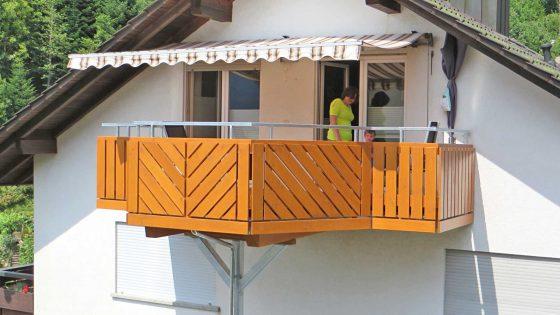 Balkone von der Zimmerei Treyer in Oppenau