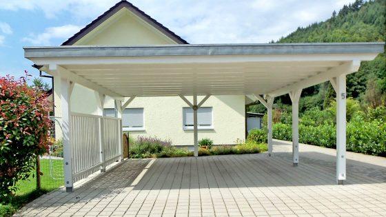 carport-flachdach
