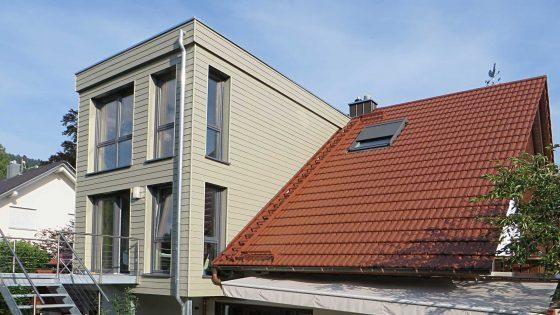 Dachaufbau von der Zimmerei Treyer in Oppenau