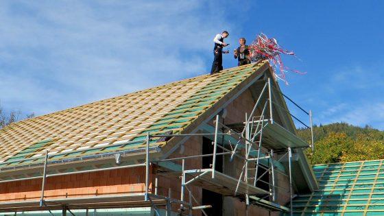 Dachstuhl von der Zimmerei Treyer in Oppenau
