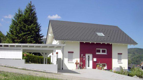 Neubau vom Baugeschäft Treyer in Oppenau